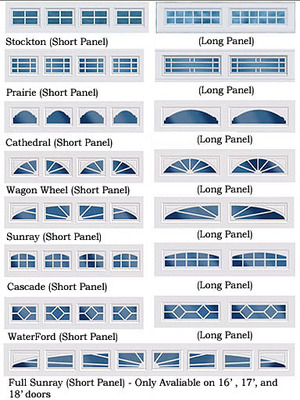 Garage doors insulated steel for Insulated garage door window inserts
