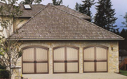 Wood garage door repair for Wood composite garage doors