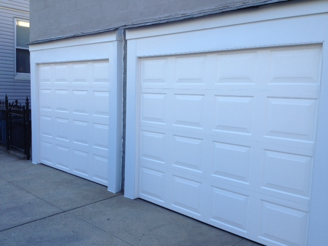 This Is a Picture of Our Finished Garage Door Installation. If you are in the & EazyLift Garage Door | Queens NY | Need a Repair or Install?