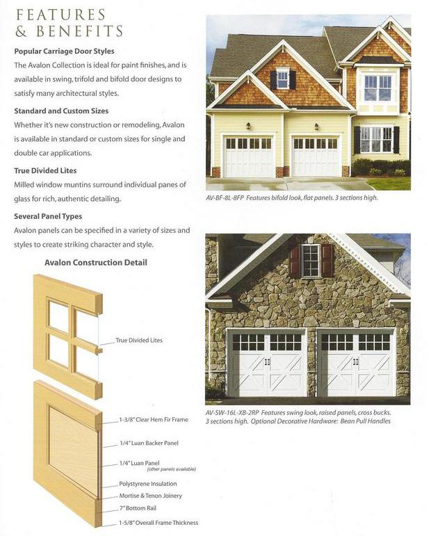 Wood carriage house garage door for Garage appeal coupon code
