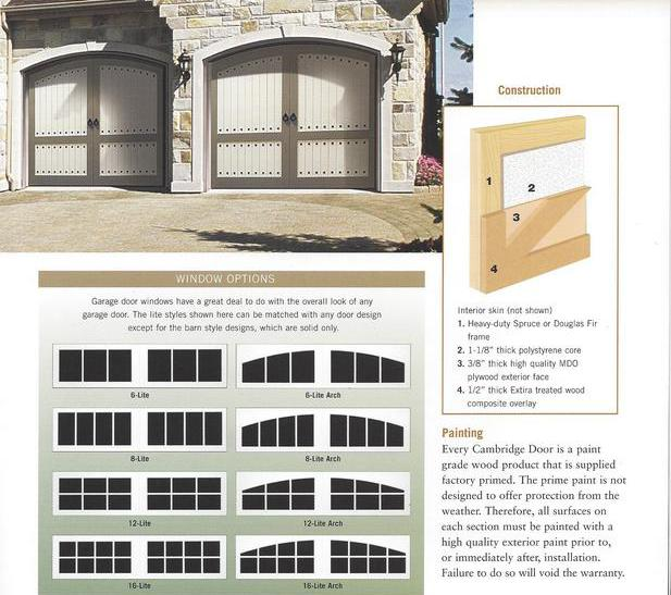 Wood garage door repair for Composite wood garage doors